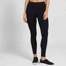 Core Full Legging  BLACK  hi-res