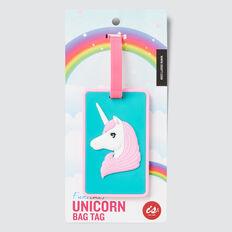 Unicorn Bag Tag  MULTI  hi-res