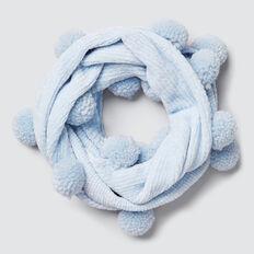 Velvet Chenille Snood  SOFT BLUE  hi-res