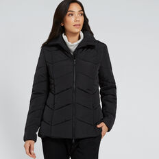 Puffer Jacket  BLACK  hi-res