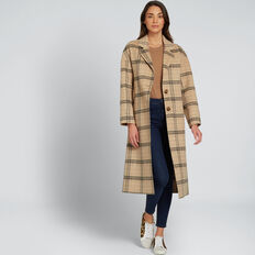 Streamline Check Coat  CHECK  hi-res