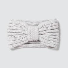 Knitted Turban  GREY  hi-res
