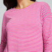 Stripey Long SLeeve Top  BOLD FUCHSIA STRIPE  hi-res