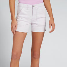 Patch Pocket Denim Short  LAVENDER DENIM  hi-res