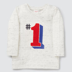 Number 1 Tee  VINTAGE SPACE DYE  hi-res