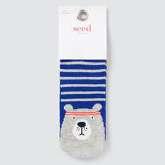 Athletic Bear Socks  GREY MARLE  hi-res