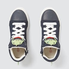 Dino High-top Sneaker  NAVY  hi-res