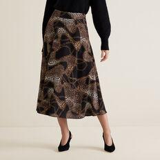 Circular Skirt  CHAIN PRINT  hi-res