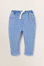 Denim Terry Jeans  BRIGHT WASH  hi-res