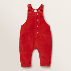 Corduroy Overalls  FIRE ENGINE RED  hi-res