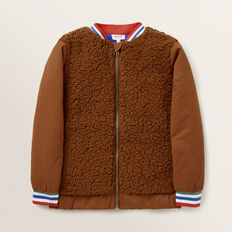 Lucky Cats Sherpa Jacket  NUTMEG  hi-res
