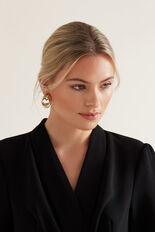 Linked Earrings  GOLD  hi-res