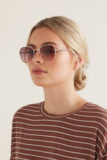 Pippa Metal Sunglasses  GOLD  hi-res