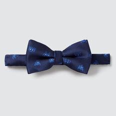 Pixel Bow Tie  NAVY  hi-res