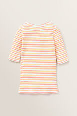 Stripe Rib Tee  MULTI  hi-res