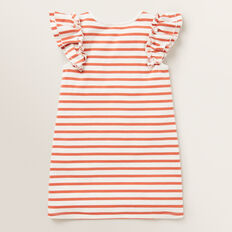 Stripe Pocket Dress  GINGER SPICE  hi-res