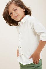 Linen Shirt  VINTAGE WHITE  hi-res