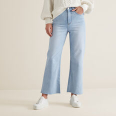 Wide Leg Jean  PASTEL DENIM WASH  hi-res