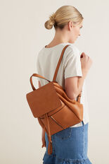 Twin Pocket Backpack  TAN  hi-res