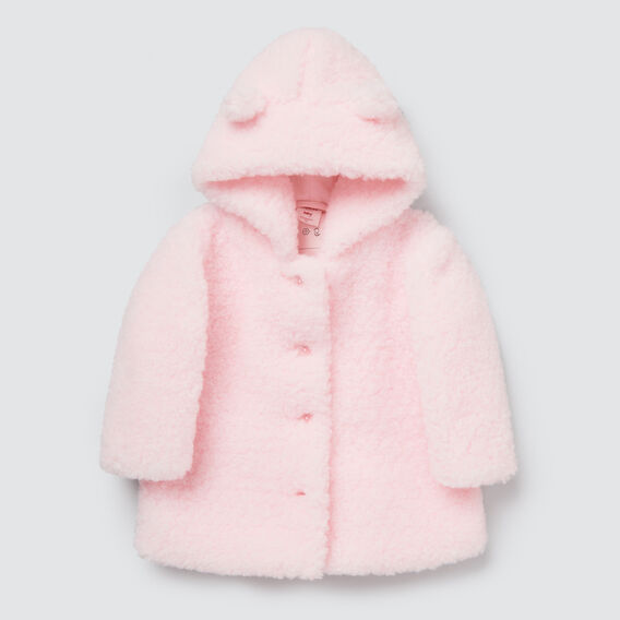 Teddy Coat  ICE PINK  hi-res