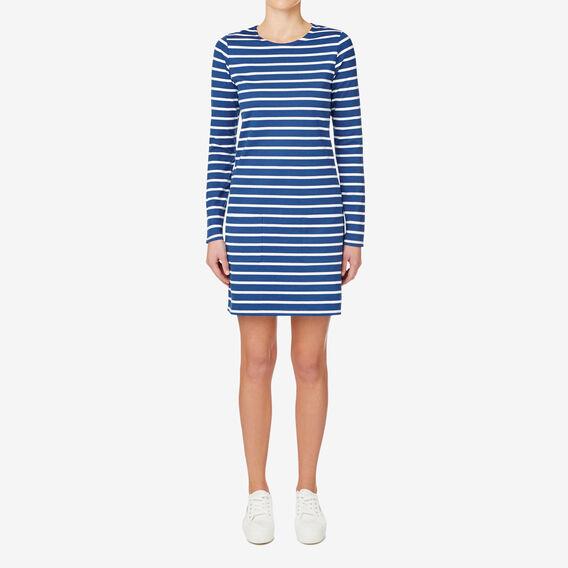 Stripe Dress  SILVER LAKE BLUE  hi-res