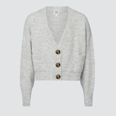 Cropped Cardigan  CLOUD  hi-res