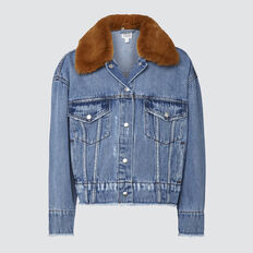 Sherpa Denim Jacket  VINTAGE WASH  hi-res