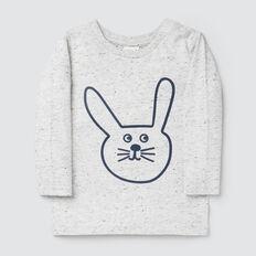 Big Bunny Tee  CLOUDY MARLE  hi-res
