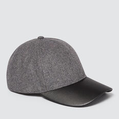 Contrast Panel Cap  CHARCOAL  hi-res