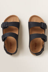 Double Buckle Sandal  NAVY  hi-res