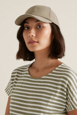 Lounge Cap  WASHED OLIVE  hi-res