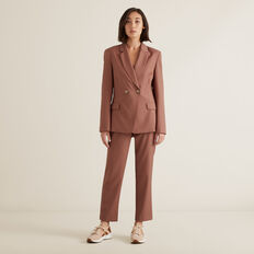 Wool Blend Blazer  WASHED ROSE  hi-res