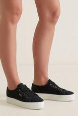 Billie Platform Sneaker  BLACK  hi-res