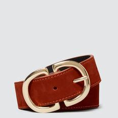 Ring Buckle Belt  COGNAC  hi-res