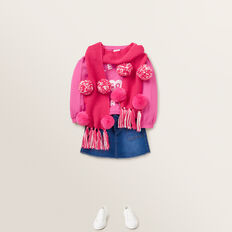 Go Girls Windcheater  FUCHSIA  hi-res