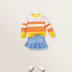 Multi Stripe Sweater  MULTI  hi-res