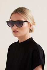 Zara Flat Top Sunglasses  BLACK  hi-res
