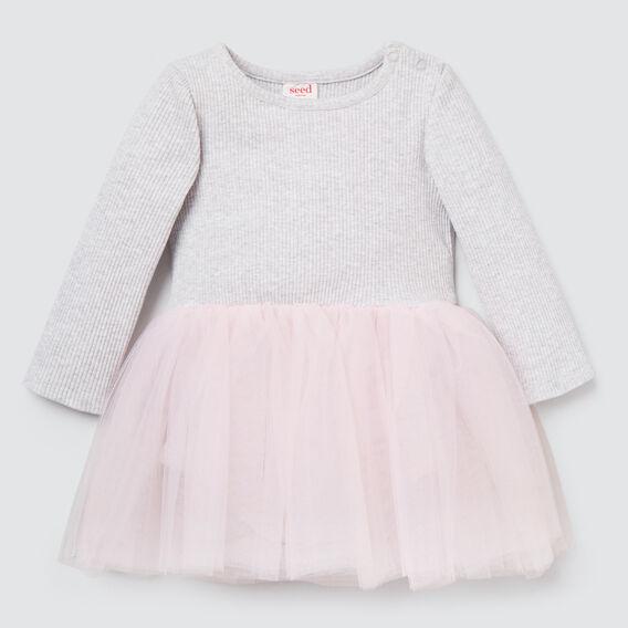 Rib Tutu Dress  CLOUD/ICE PINK  hi-res