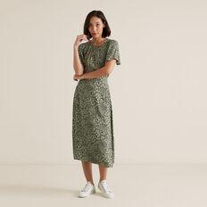 Spliced Animal Print Skirt  SPLICED ANIMAL  hi-res