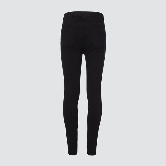 Stretchy Jeggings  BLACK  hi-res