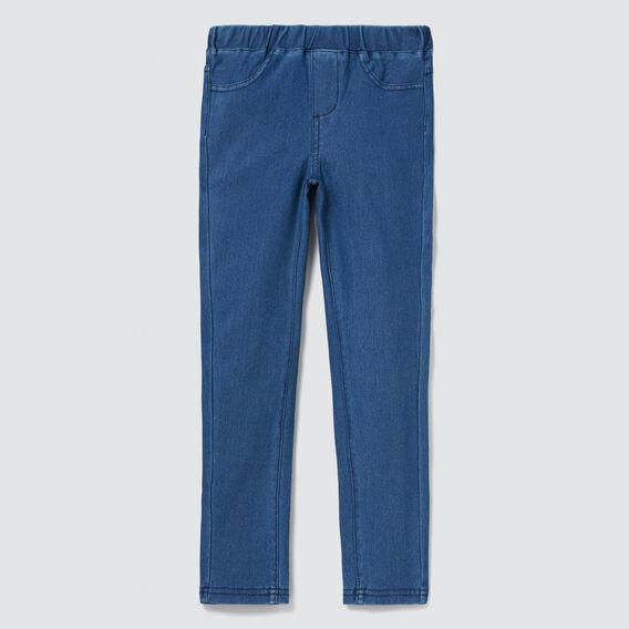 Basic Jegging  MID BLUE WASH  hi-res