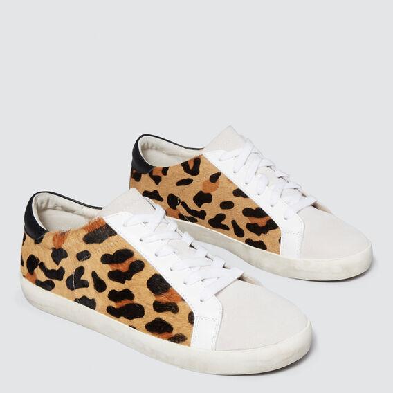 Ollie Leather Sneaker  OCELOT  hi-res