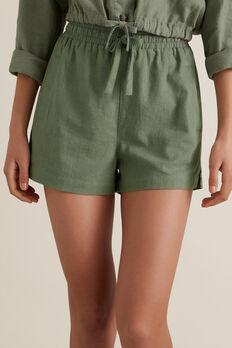 Linen Short  SAGE  hi-res