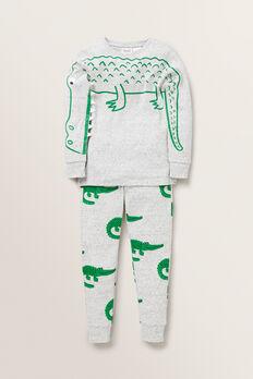 Alligator Pyjamas  CLOUDY MARLE  hi-res