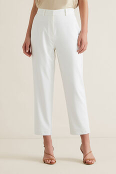 High Waisted Trouser  CLOUD CREAM  hi-res