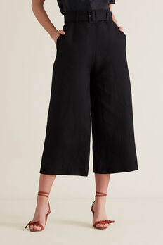 Belted Trouser  BLACK  hi-res