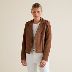 Suede Jacket  CHOCOLATE SUEDE  hi-res
