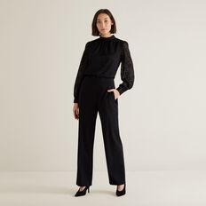 High Waist Pant  BLACK  hi-res