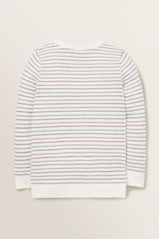 Stripe Windcheater  VINTAGE WHITE  hi-res