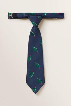 Dragon Neck Tie  MIDNIGHT BLUE  hi-res